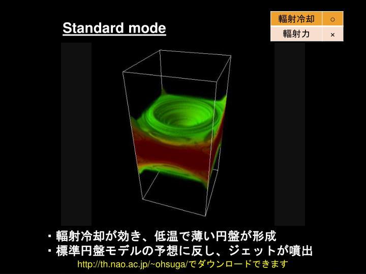 Standard mode