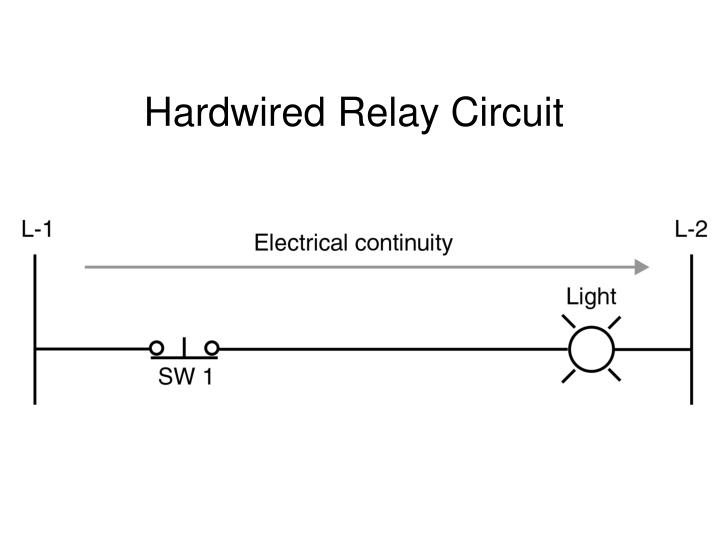 Hardwired Relay Circuit