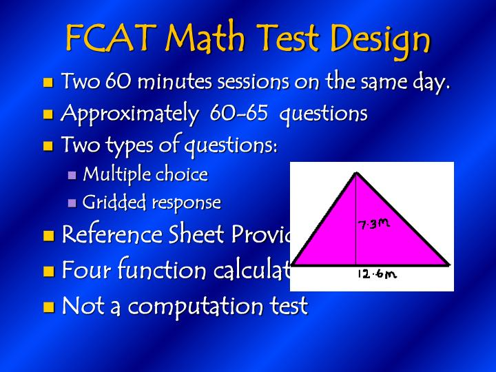 FCAT Math Test Design