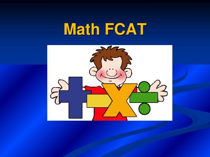Math FCAT