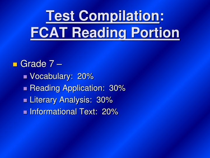 Test Compilation
