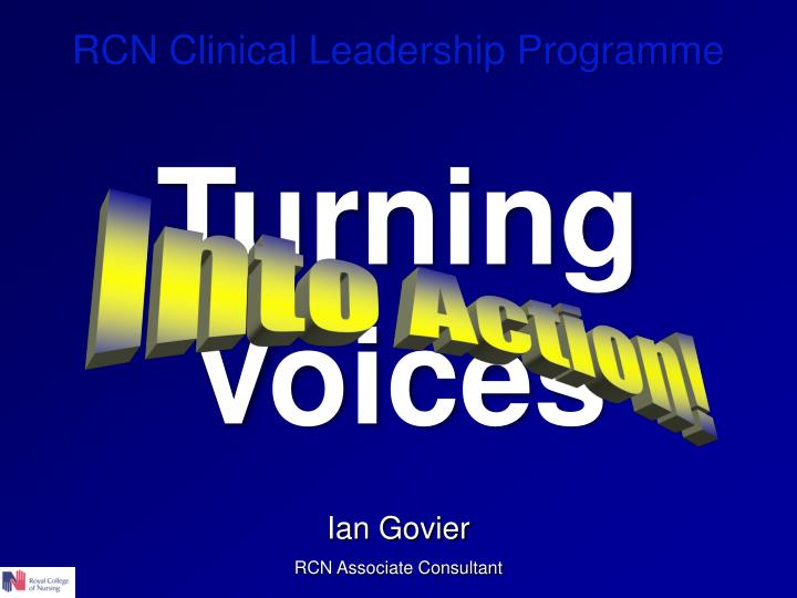 RCN Clinical Leadership Programme