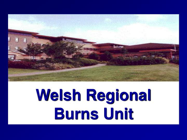 Welsh Regional              Burns Unit