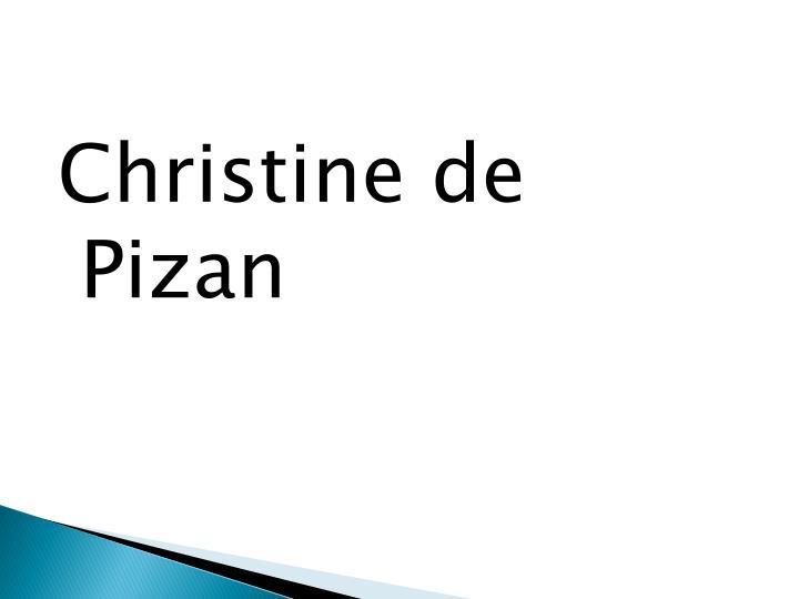 Christine de