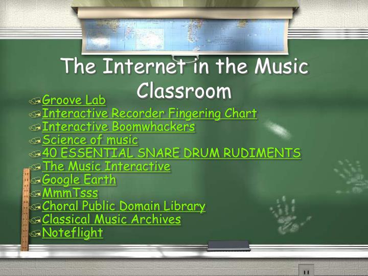 The Internet in the Music Classroom