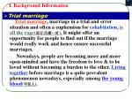 i background information