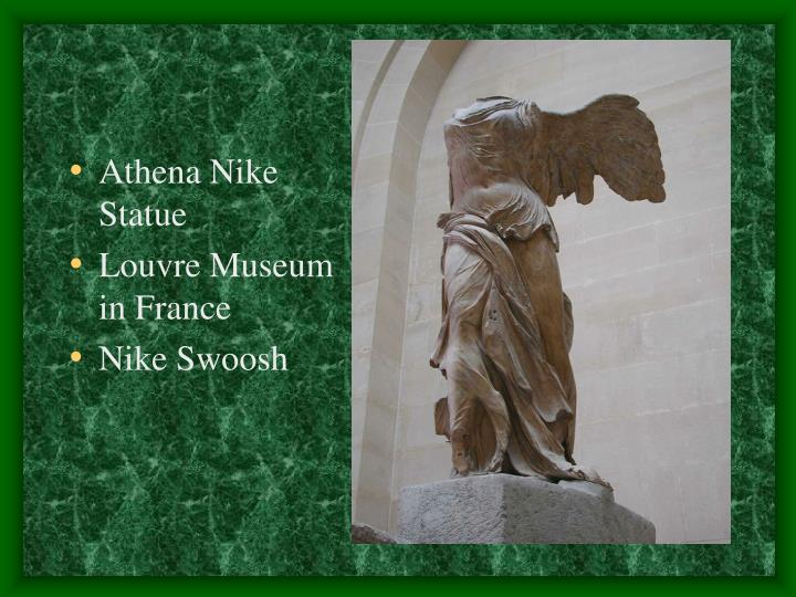 Athena Nike Statue