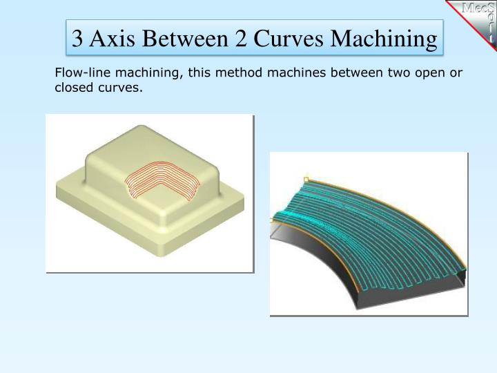3 Axis Between 2 Curves Machining