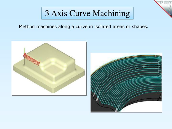 3 Axis Curve Machining
