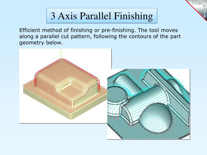 3 Axis Parallel Finishing