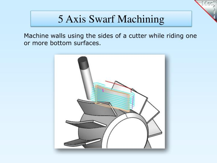 5 Axis Swarf Machining
