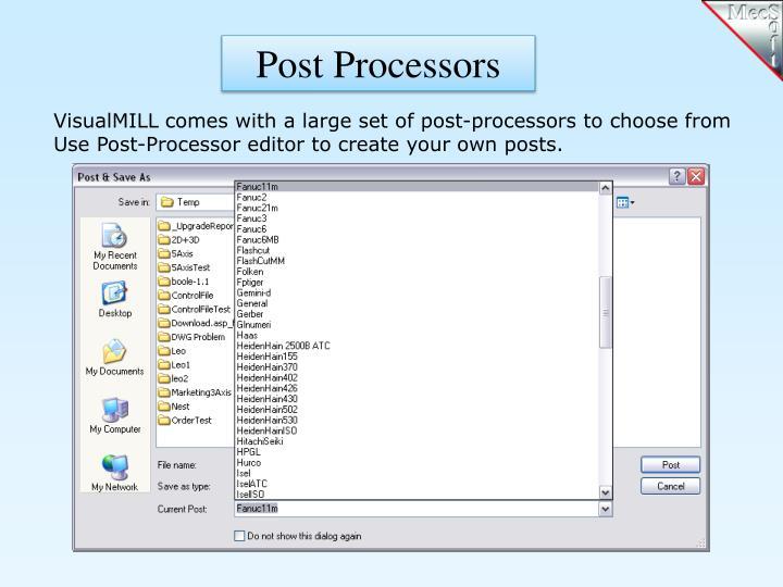 Post Processors