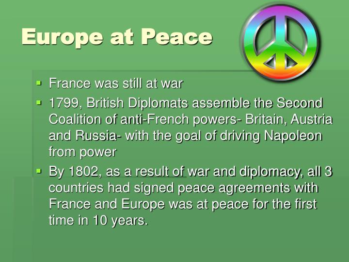 Europe at Peace