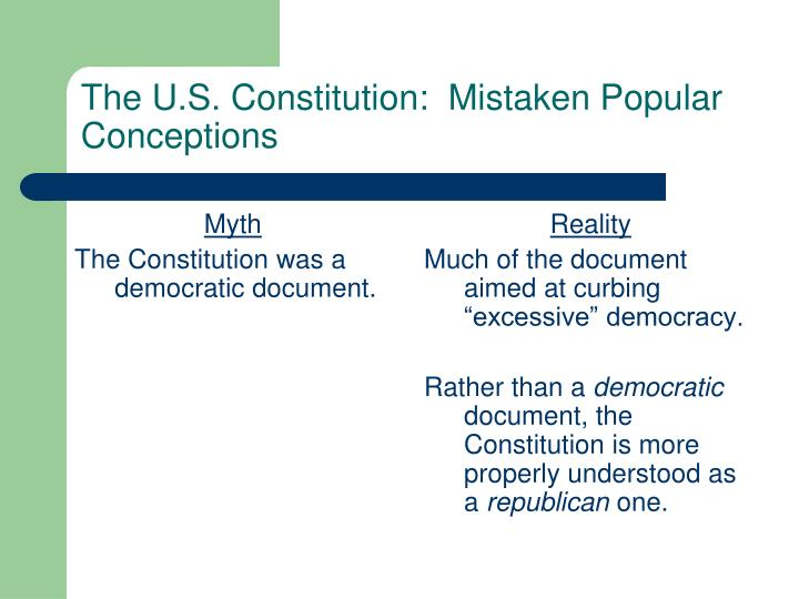 the constitution a democratic document The united states constitution will continue to be analyzed for flaws and motivations for as long as it remains the basic governing document of american government however , john roche makes a strikingly supporting argument for the good and democratic intentions of the founding fathers.