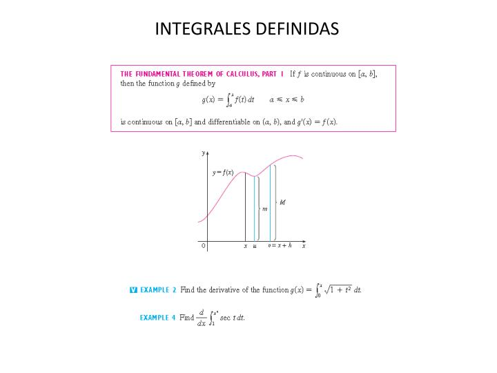 INTEGRALES DEFINIDAS