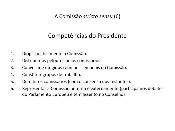 A Comissão