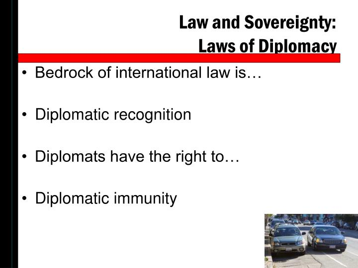 Law and Sovereignty: