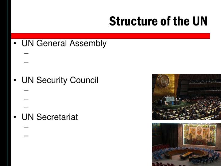 Structure of the UN