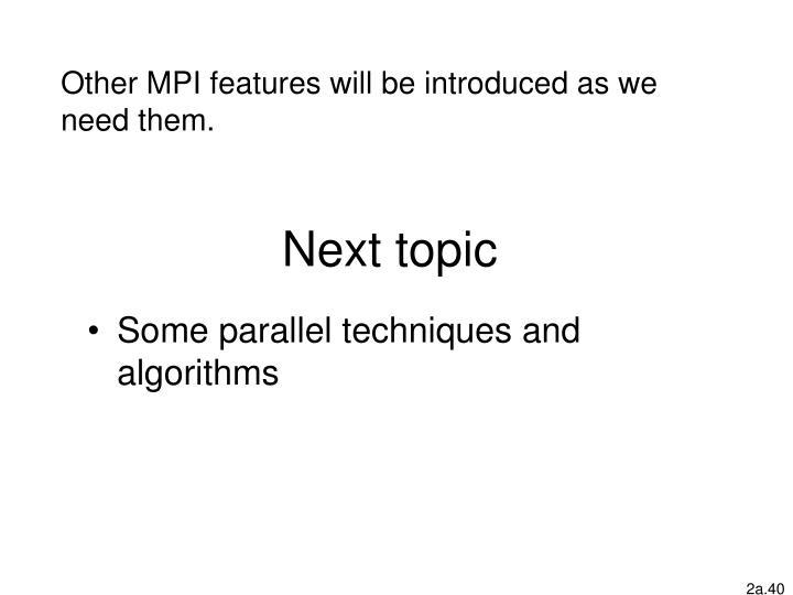 Next topic