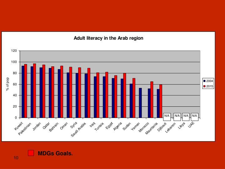 MDGs Goals.