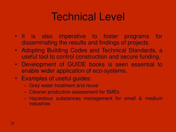 Technical Level