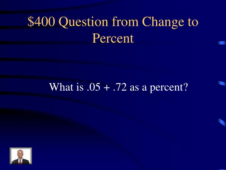 $400 Question from
