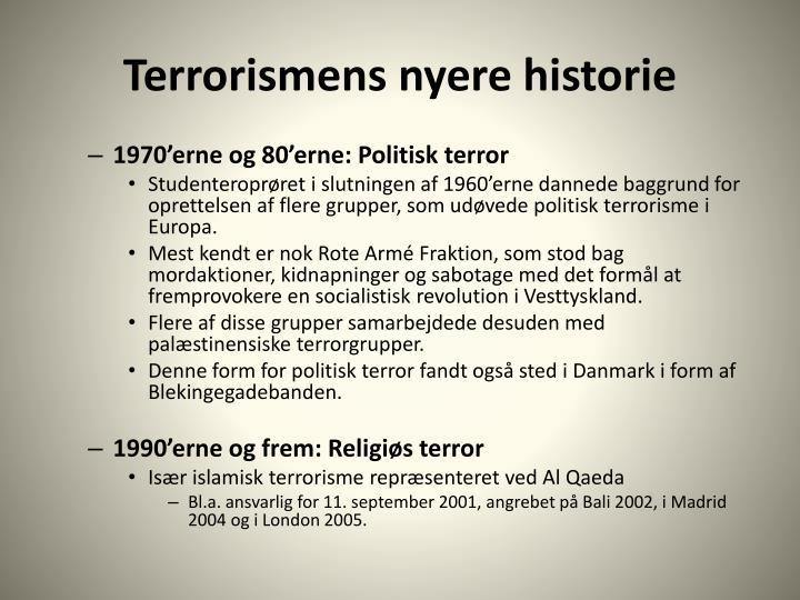 Terrorismens