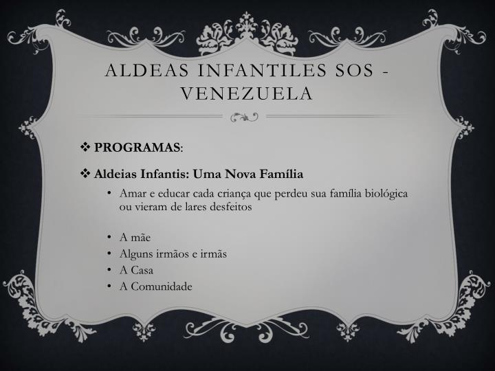 ALDEAS INFANTILES SOS -