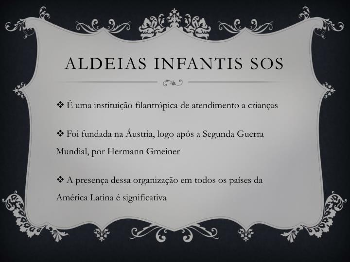 ALDEIAS INFANTIS SOS
