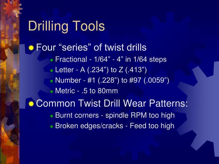 Drilling Tools