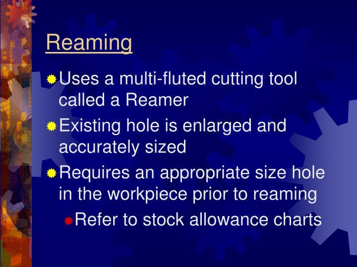 Reaming