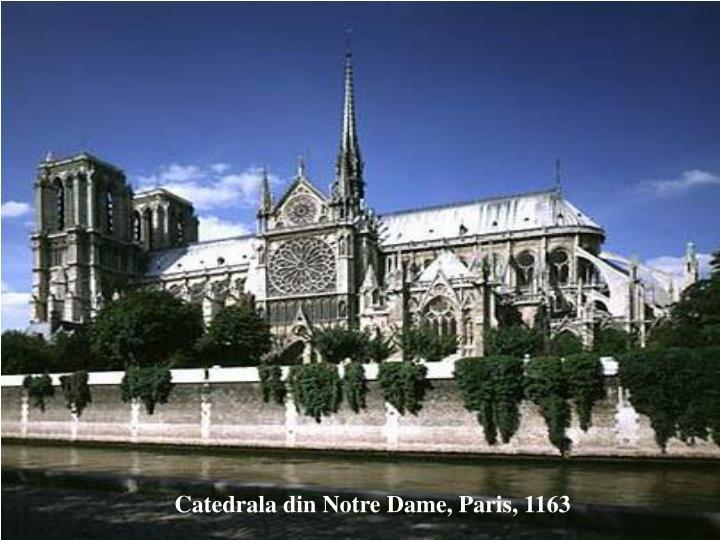 Catedrala din Notre Dame, Paris, 1163