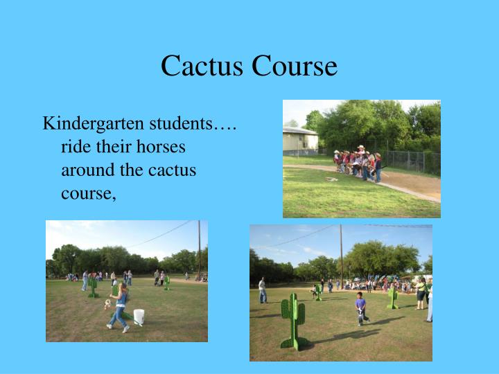 Cactus Course
