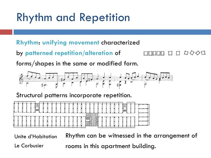 Rhythm and Repetition