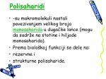 polisaharidi