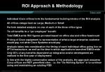 roi approach methodology