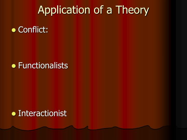 functionalist conflict and interpretive theories