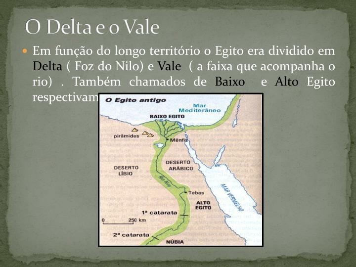 O Delta e o Vale