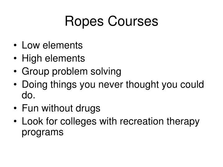 Ropes Courses