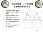 example 1 naming transformations