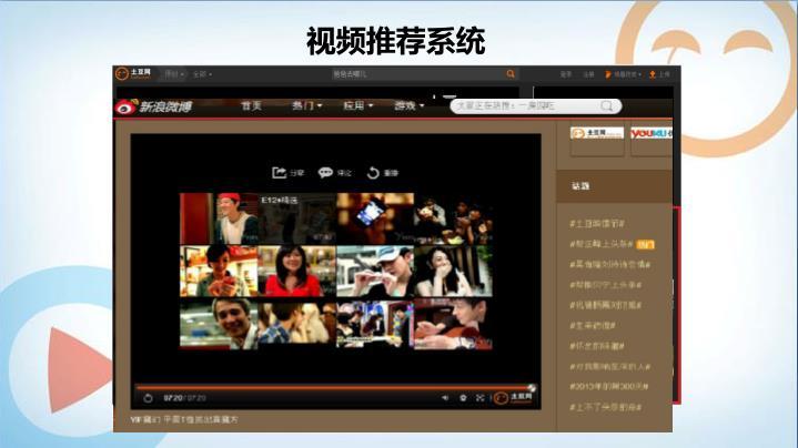 视频推荐系统