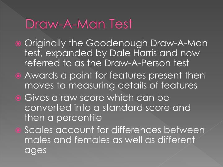 Draw-A-Man Test