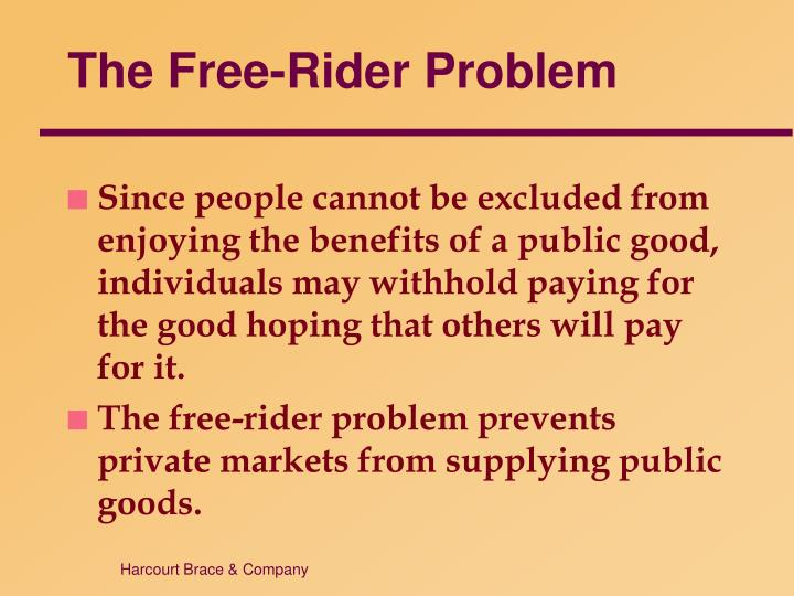 The Free-Rider Problem