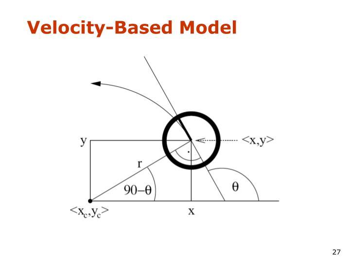 Velocity-Based Model