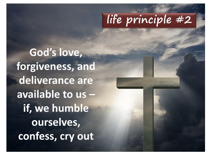 life principle #2