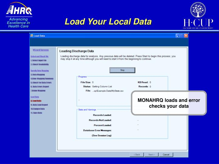Load Your Local Data