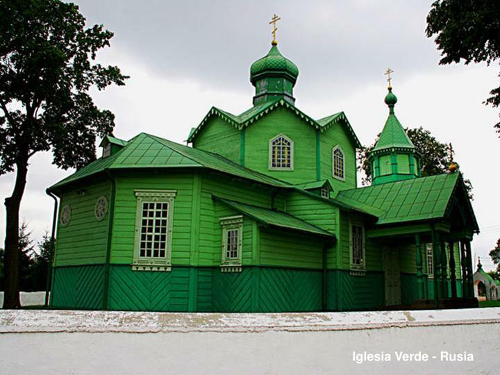 Iglesia Verde - Rusia
