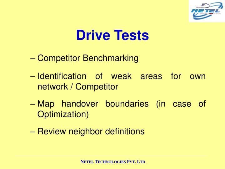 Drive Tests