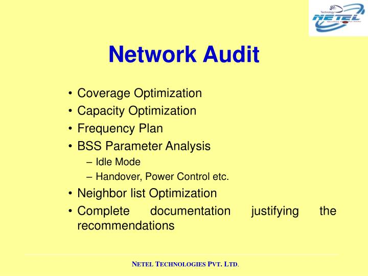 Network Audit