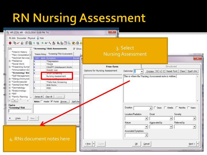 RN Nursing Assessment